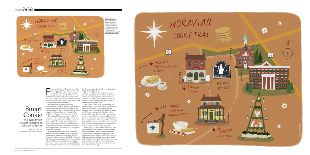 Moravian Cookie Trail